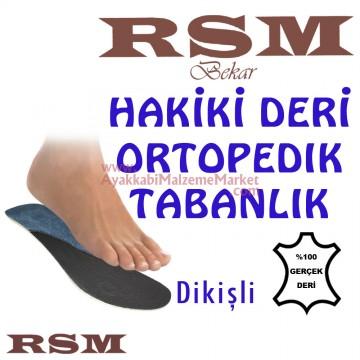 RSM Ortopedik Deri Tabanlık