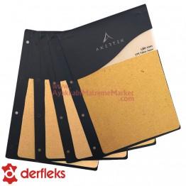 Derfleks STR Taban Astarı Salpa Plaka - 1,8 mm