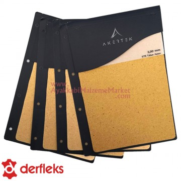 Derfleks STR Taban Astarı Salpa Plaka - 2 mm