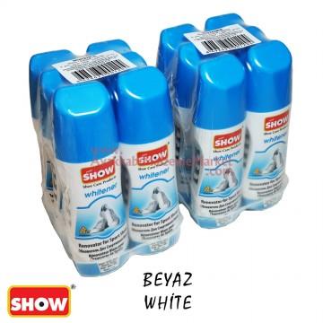 Show Beyaz Spor Ayakkabı Likit Boyası 75ml - (72 Adet / Koli)