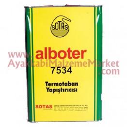 Alboter 7534/5 Sarı Yapıştırıcı