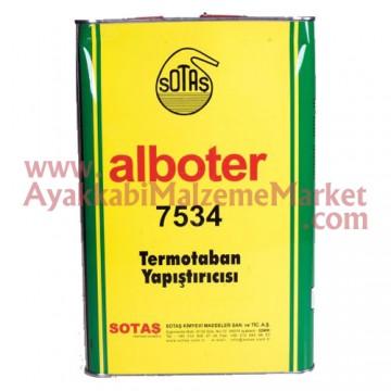 Alboter 7534/5 Sarı Yapıştırıcı - 3 Kg (6 Adet / Koli)