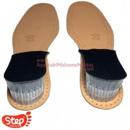 Step Comfort Boy Yükseltici Jel Topukluk / Gizli Topuk - Maksimum 5 Cm Yükselme