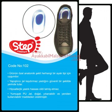 Step Comfort Jel Topukluk - Erkek