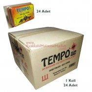 Tempo SUN Cilalı Parlatma Süngeri - Renksiz (24 Adet)