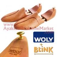Woly Blink 9515 Cilalı Ahşap Ayakkabı Kalıbı